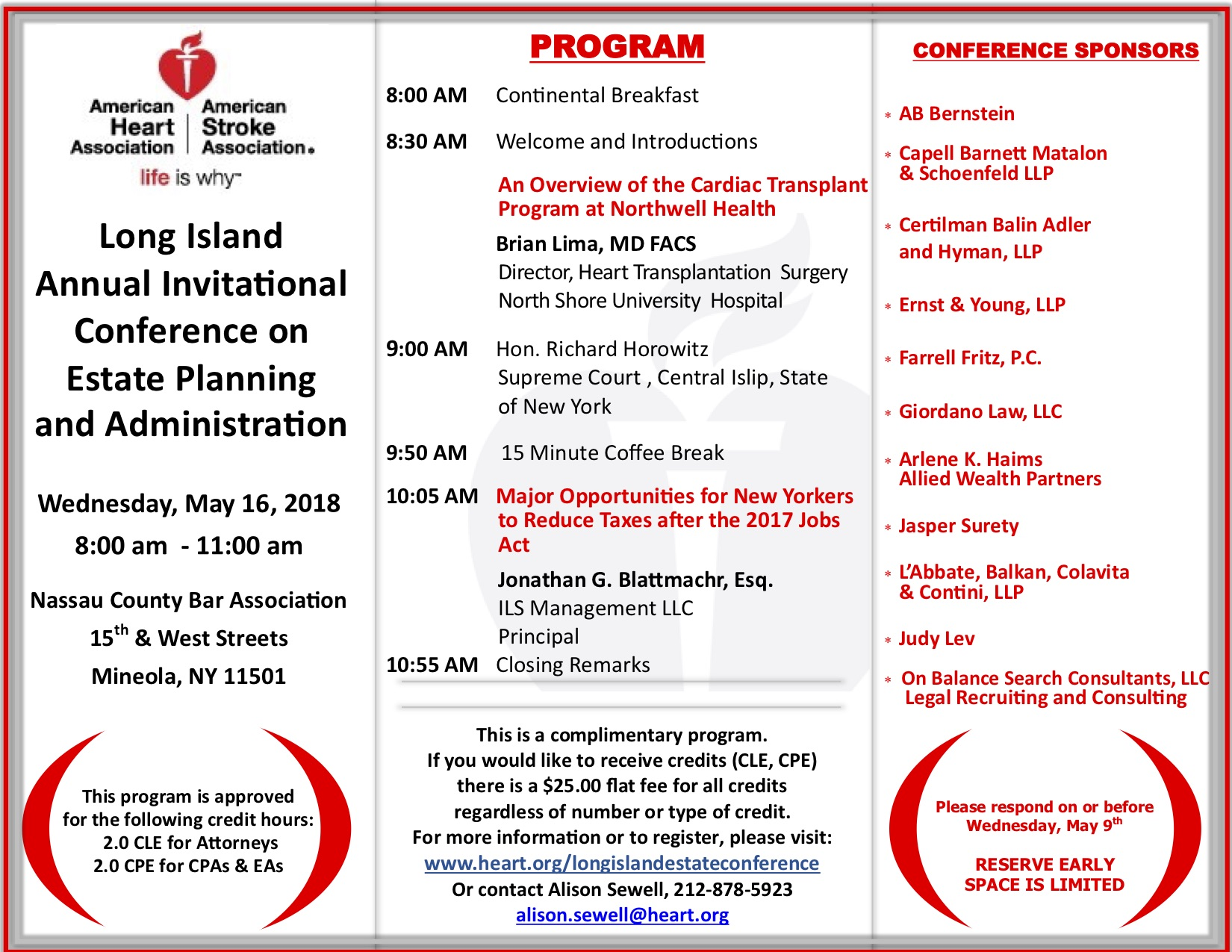 8th Annual Long Island Invitational Conference on Estate Planning and Administration